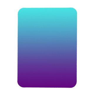 Simple Background Gradient Turquoise Blue Purple Magnet