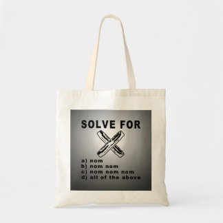Simple Bacon Math Tote Bag