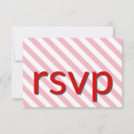 """[ Thumbnail: Simple, Basic and Humble """"RSVP"""" Card ]"""