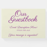 [ Thumbnail: Simple, Basic Generic Event Guest Book ]