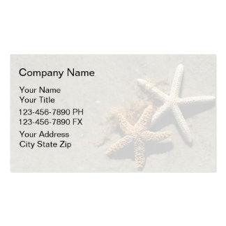 Simple Beach Business Cards
