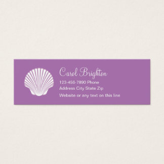 Simple Beach Business Cards