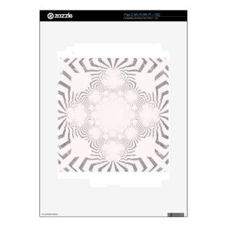 Simple Beautiful amazing soft white pattern design Skin For iPad 2