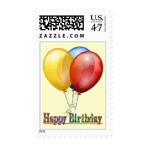 Simple Beauty - Birthday Stamp