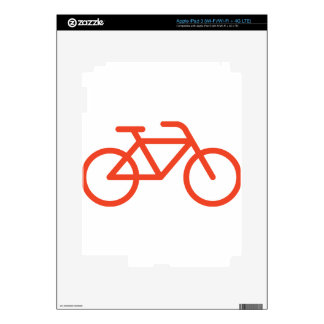 Simple Bicycle Decals For iPad 3