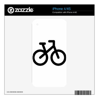Simple Bicycle Skins For iPhone 4S