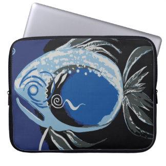 Simple Big Fish Computer Sleeve