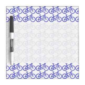 simple bike pattern Dry-Erase board