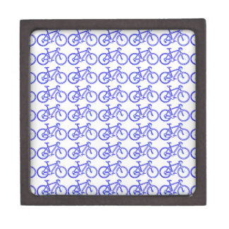simple bike pattern gift box