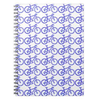 simple bike pattern notebook