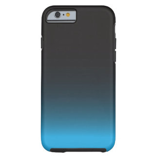 Simple Black and Blue iPhone 6 Case, Tough Tough iPhone 6 Case