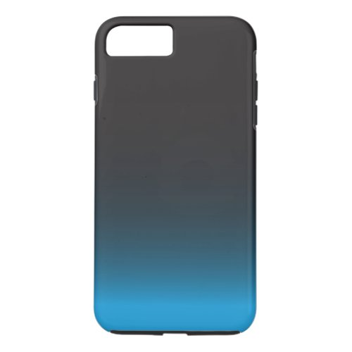 Simple Black and Blue Pattern Phone Case