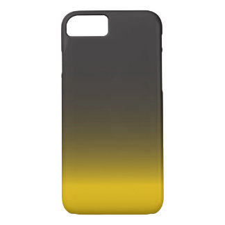 Simple Black and Gold iPhone 7 Case