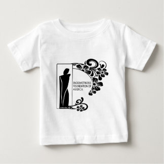 Simple Black and White Baby T-Shirt