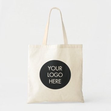 Professional Business Simple Black and White Business Logo Bag