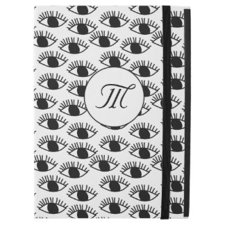Simple Black and white Eye pattern iPad Pro Case