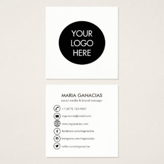 Black And White Business Cards & Templates | Zazzle