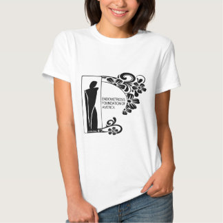Simple Black and White T Shirt