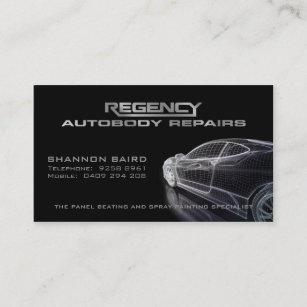 Model business cards zazzle simple black car model business card colourmoves
