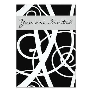 Simple Black Card