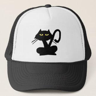 Simple Black Cat Hat