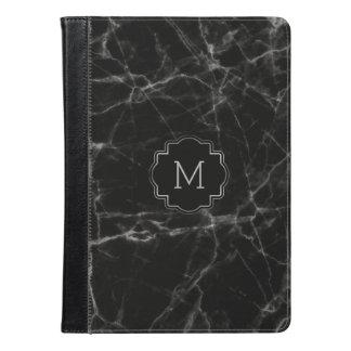 Simple Black Faux Marble Stone MF002