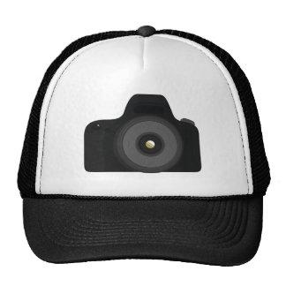 Simple Black Generic SLR Photography Camera Trucker Hat
