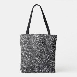 Simple Black Glitter