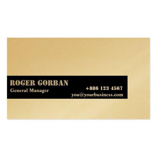 Simple black stripe on white generic business card zazzle for Generic business cards