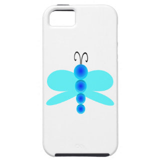 Simple Blue Dragonfly iPhone SE/5/5s Case