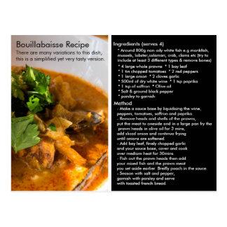 Simple Bouillabaisse Recipe Card