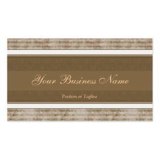 Simple Brown Business Card