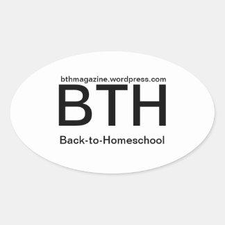 Simple BTH Sticker Back-to-Homeschool