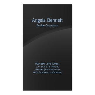 Simple Business Card Dark Horizon Business Card Template