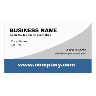 PERSONALIZED DESIGN Generic Business Card Templates - Generic business card template