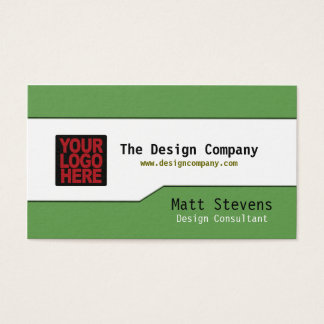 Simple Business Card Top Bottom