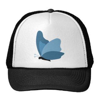Simple Butterfly - Blue Trucker Hat