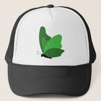 Simple Butterfly - Green Trucker Hat