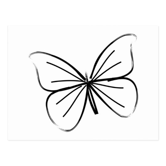 simple butterfly line drawing postcard zazzle road trip clipart free road trip clipart free