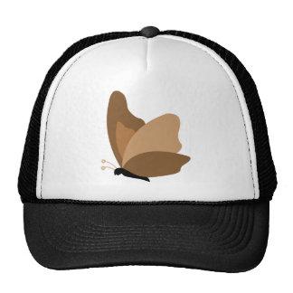 Simple Butterfly - Orange Brown Trucker Hat