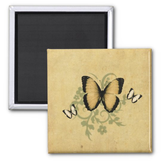 Simple Butterfly's Magnet