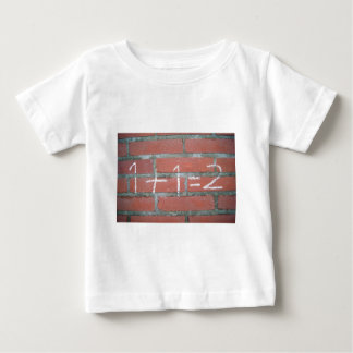 Simple calculation, passed school baby T-Shirt
