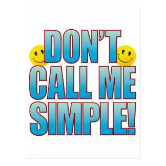 Simple Call Life B Postcard