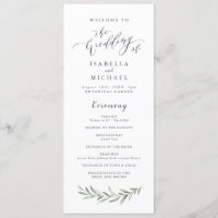 Wedding Programs<