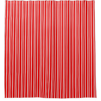 red white striped shower curtain. Simple Candy Cane Red  amp White Stripes Shower Curtain And Curtains Zazzle