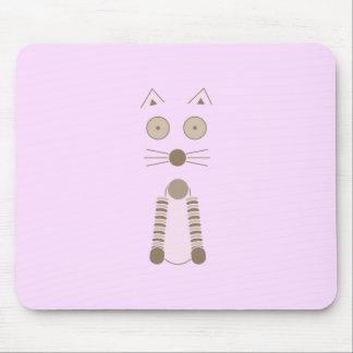 Simple CAT T-Shirt Mouse Pad