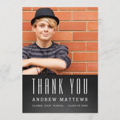 thank you card graduation flat invitation card zazzle com