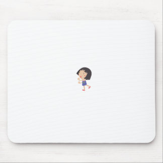 Simple child cartoon mouse pad