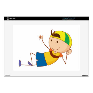 Simple child cartoon decals for laptops