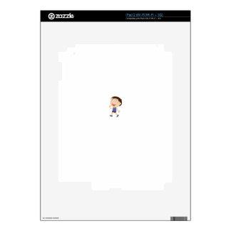 Simple child cartoon iPad 2 skins